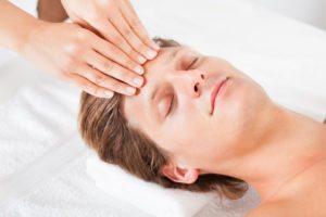 Ansigtszoneterapi-ansigtsrefleksterapi